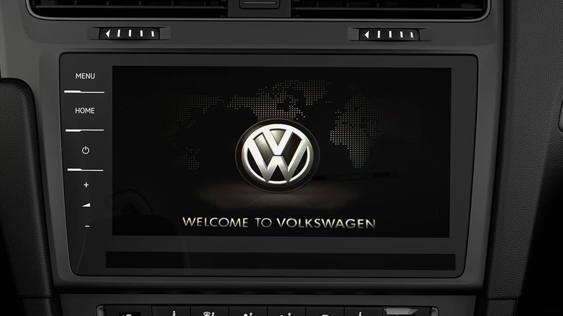 "Image of the Volkswagen Discover Pro 9.2"" Touch screen"