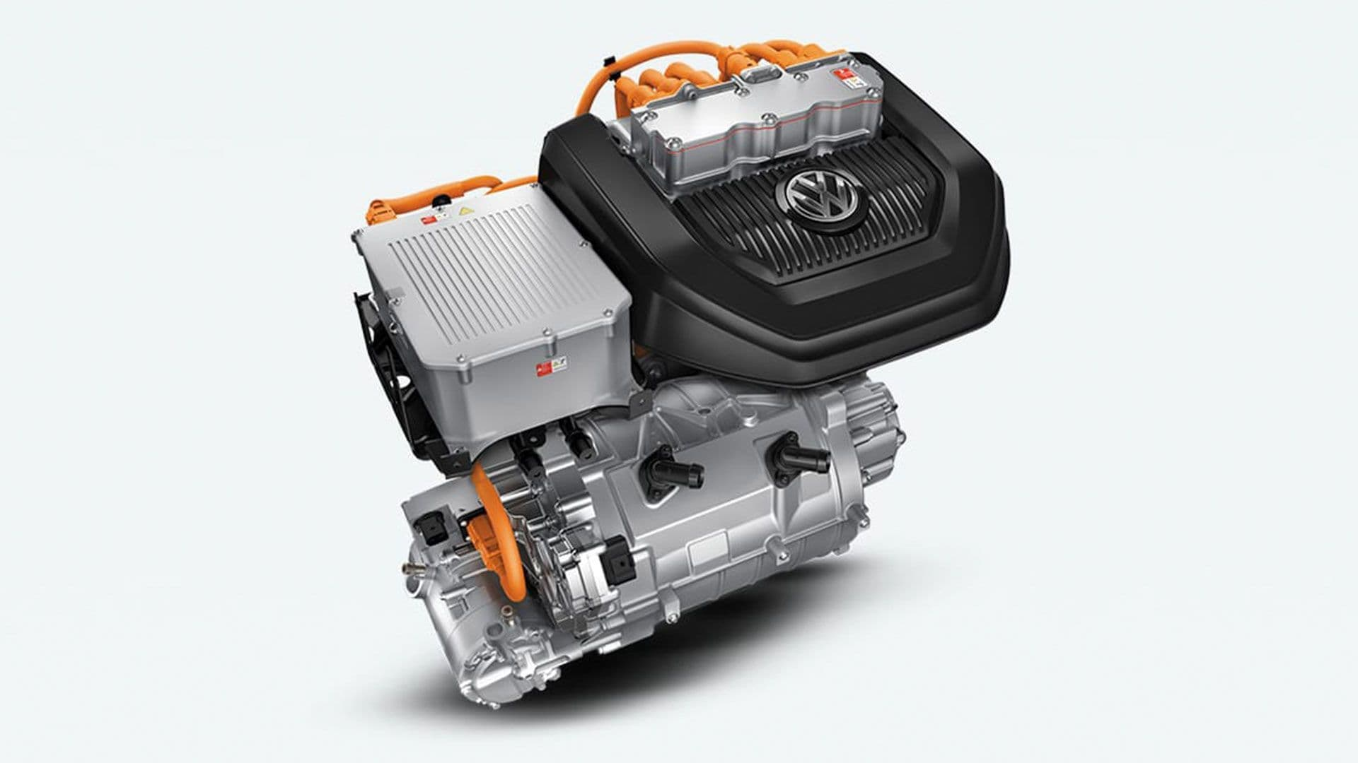 Exterior view of the 2020 e-Golf engine